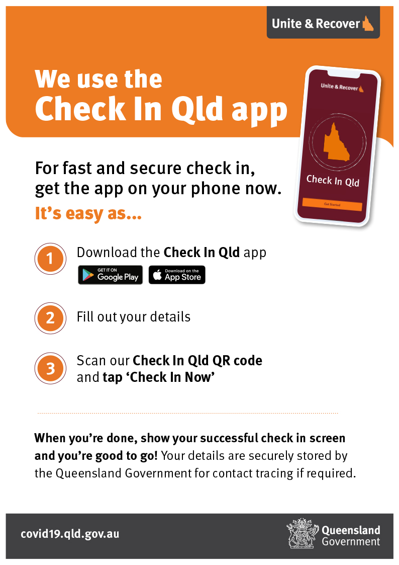 Check In Qld - Resource kit
