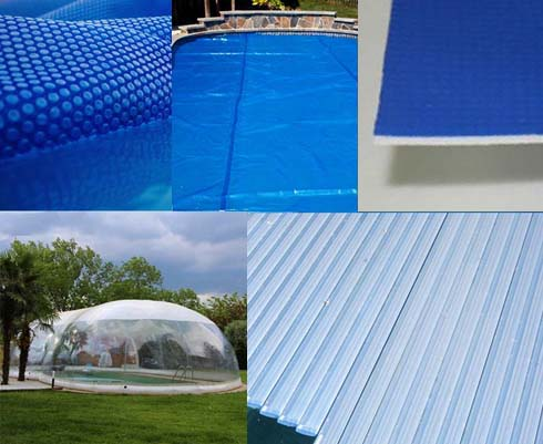 What are the 5 main cover options for better pool efficiency?